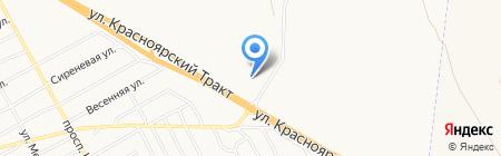 АЗС на карте Черногорска