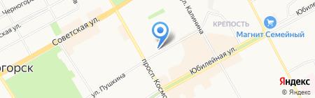ПК-Сервис на карте Черногорска