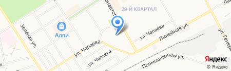 СтальПласт на карте Черногорска