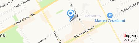 Почтовое отделение №8 на карте Черногорска