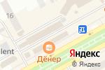 Схема проезда до компании МТС в Черногорске