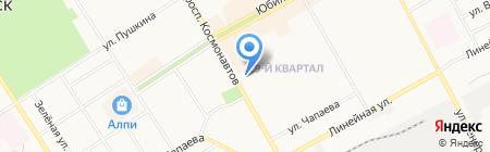 Совкомбанк на карте Черногорска