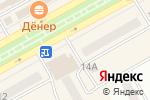 Схема проезда до компании Изумруд в Черногорске