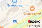 Схема проезда до компании Киоск по продаже цветов в Черногорске