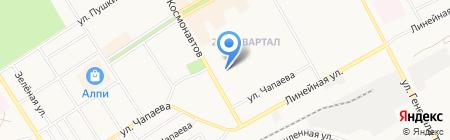 Банкомат Хакасский муниципальный банк на карте Черногорска