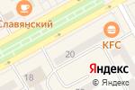 Схема проезда до компании Модный шкаff в Черногорске