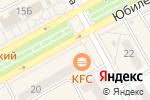 Схема проезда до компании Твое в Черногорске
