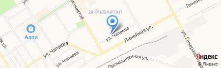Нотариус Бугаенко Е.А. на карте Черногорска