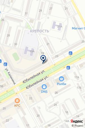 КНИЖНЫЙ МАГАЗИН КНИГА на карте Черногорска