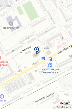 МЕБЕЛЬНЫЙ МАГАЗИН ДУЭТ на карте Черногорска