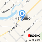 Усть-Абаканская библиотека №9 на карте Абакана