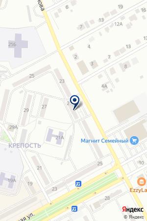 БИЛЬЯРДНЫЙ КЛУБ КЛАССИК на карте Черногорска