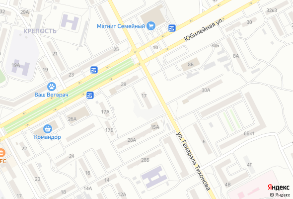 продажа квартир по ул. Генерала Тихонова