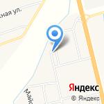 Администрация Расцветовского сельсовета на карте Абакана