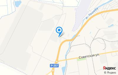 Местоположение на карте пункта техосмотра по адресу г Абакан, кв-л Молодежный, д 5Д