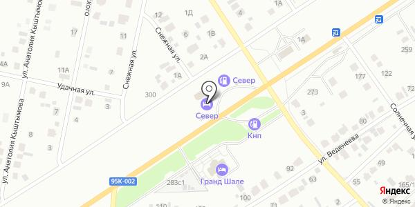 Север. Схема проезда в Абакане