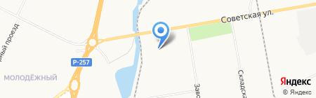 МК-Металл на карте Абакана
