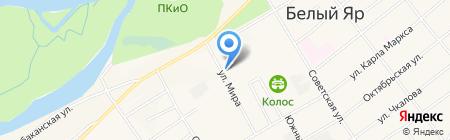 СельПО на карте Белого Яра