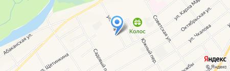 Банкомат Хакасский муниципальный банк на карте Белого Яра