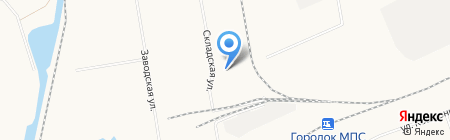 Абакан МеталлСтрой на карте Абакана