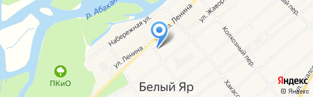 Банкомат Восточно-Сибирский банк Сбербанка России на карте Белого Яра