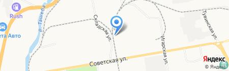 ПроХа на карте Абакана