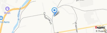 Банзай Моторс на карте Абакана