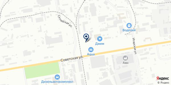 Столовая на проспекте Ленина на карте Абакане