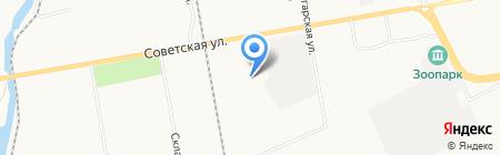 РАТИ-Снаб-Экспресс на карте Абакана