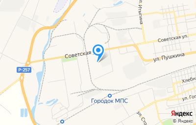 Местоположение на карте пункта техосмотра по адресу г Абакан, ул Игарская, д 5А