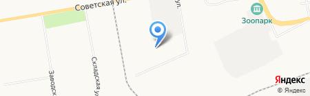 Автомеханик на карте Абакана