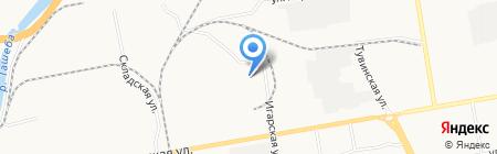 РАТЭК на карте Абакана