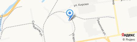 Аметист-Абакан на карте Абакана