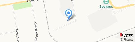 ХакУглеСбыт на карте Абакана