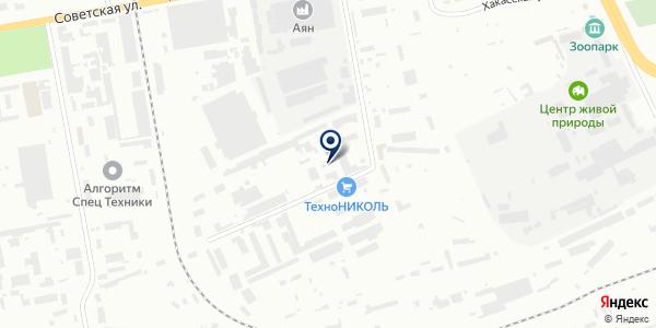 Солярис на карте Абакане