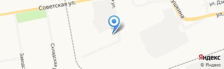 ОнЛайн на карте Абакана