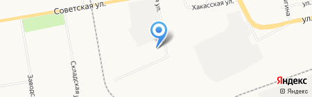 Levalis на карте Абакана