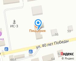 Схема местоположения почтового отделения 662050