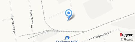 Пилорама на карте Абакана