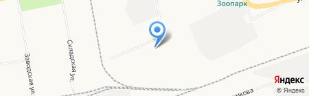 Сталь Зет на карте Абакана
