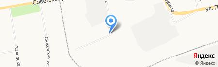 Колхозник на карте Абакана