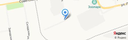 Ажурсталь на карте Абакана