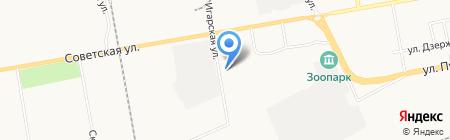 Мир аккумуляторов на карте Абакана