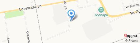 МК Пласт на карте Абакана