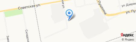 МК-Пласт на карте Абакана