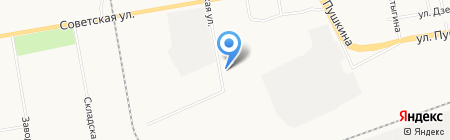 Абакан-Экспресс на карте Абакана