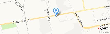 Дом Строй Сервис на карте Абакана