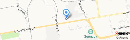 Межрегиональная распределительная компания Сибири на карте Абакана