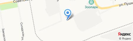ХакасЭнергоСнаб на карте Абакана