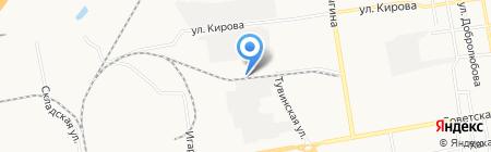 Сибирская строительная компания на карте Абакана